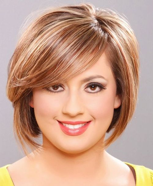Hairstyles For Plus Size Women Double Chin Colors Hairstyles