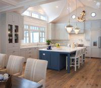 Light Gray Kitchen Cabinets - Cottage - kitchen - Pratt ...