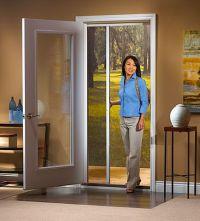 ODL retractable screen for single swinging doors | Git ...