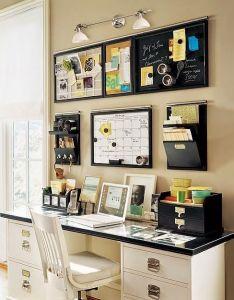 Office decorations also como decorar una pequena oficina en casa small home by rh pinterest