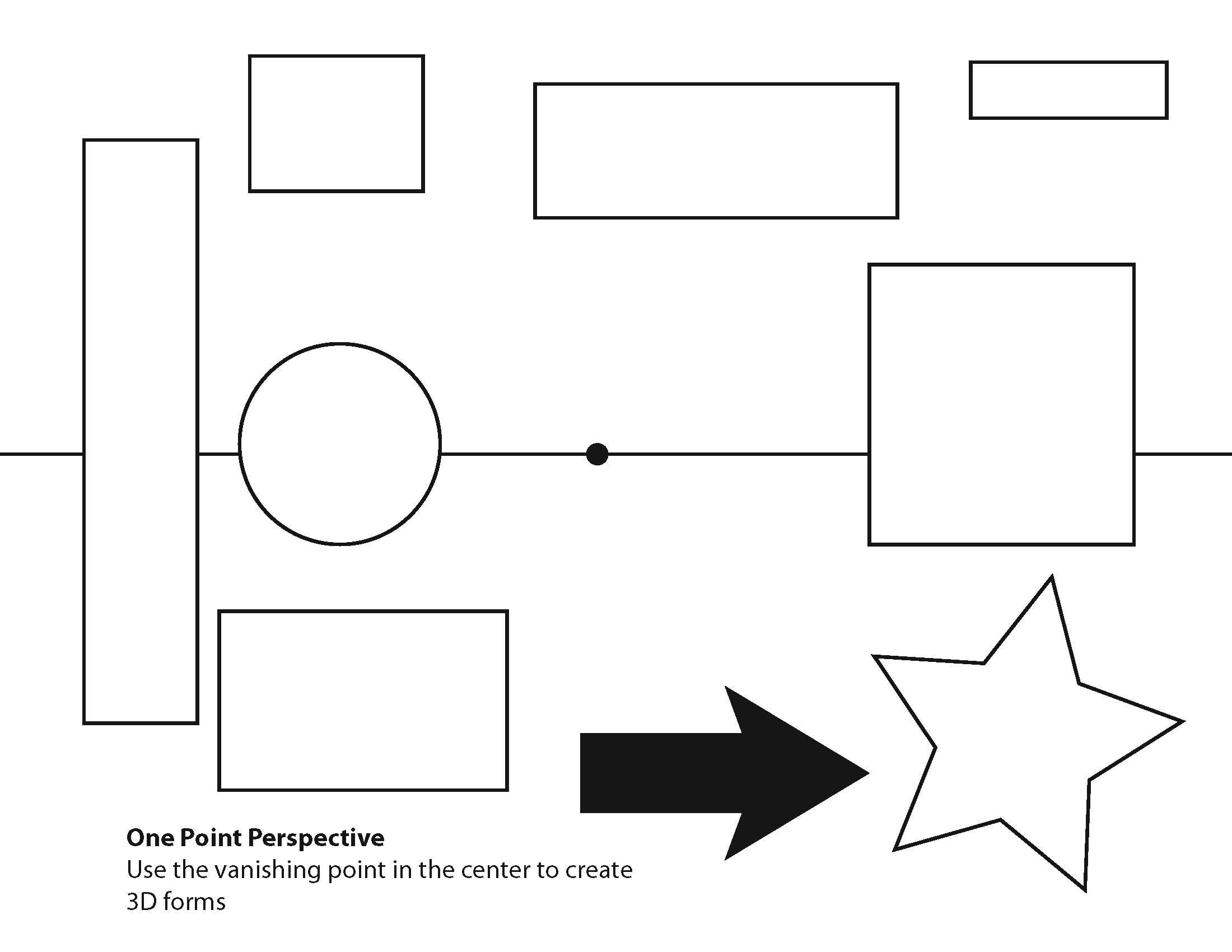 Drawing In Perspective Worksheet