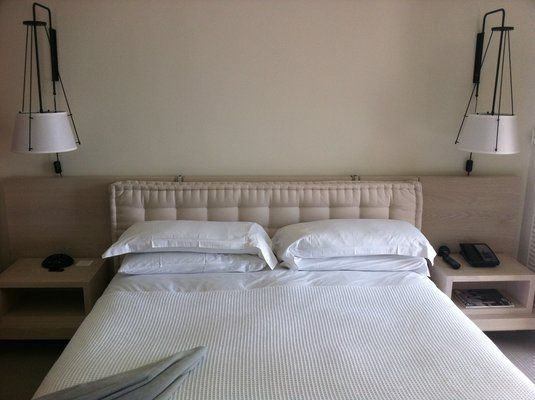 french pillow headboard  DIY Decorating  Pinterest