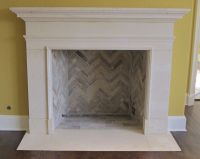 Limestone Fireplaces, Stone Mantles in Texas Limestone ...