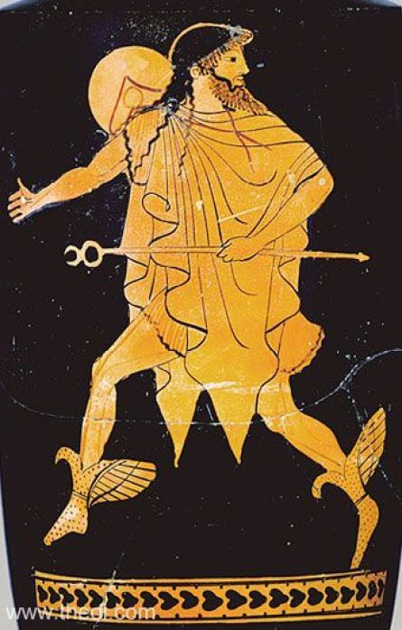Image result for Hermes ancient greek vase