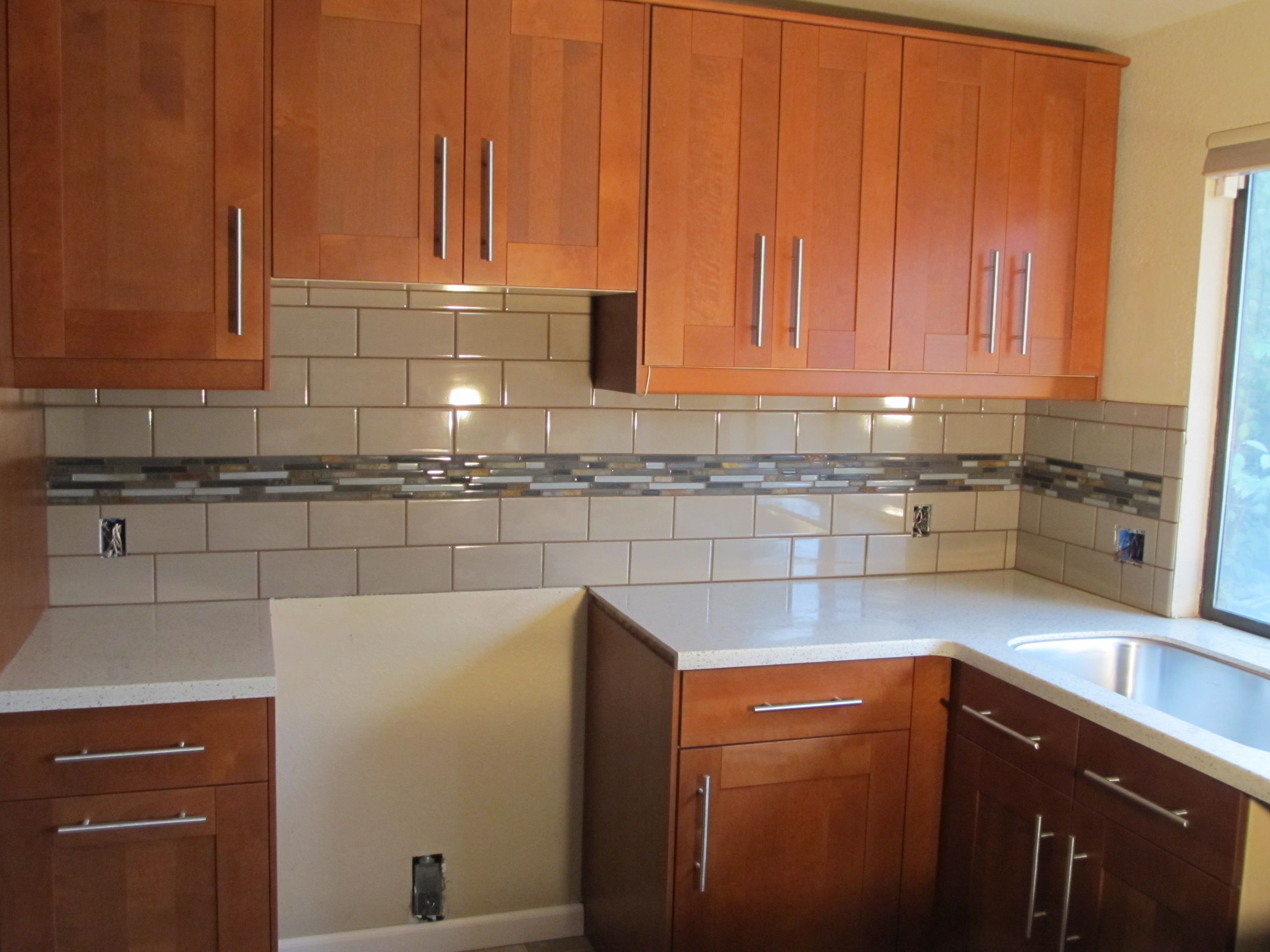Subway Tile Kitchen Backsplash Ideas is one of the home