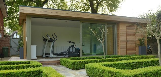 Garden Gym And Those Gorgeous Shaped Bushes! Now You Can Build ANY
