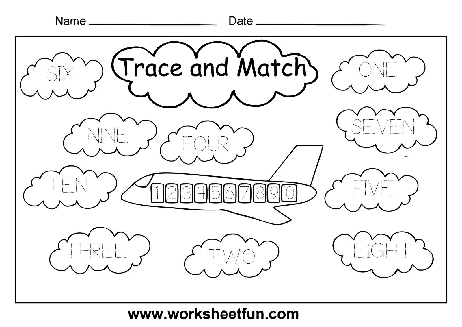 Numbers In Words Free Worksheet