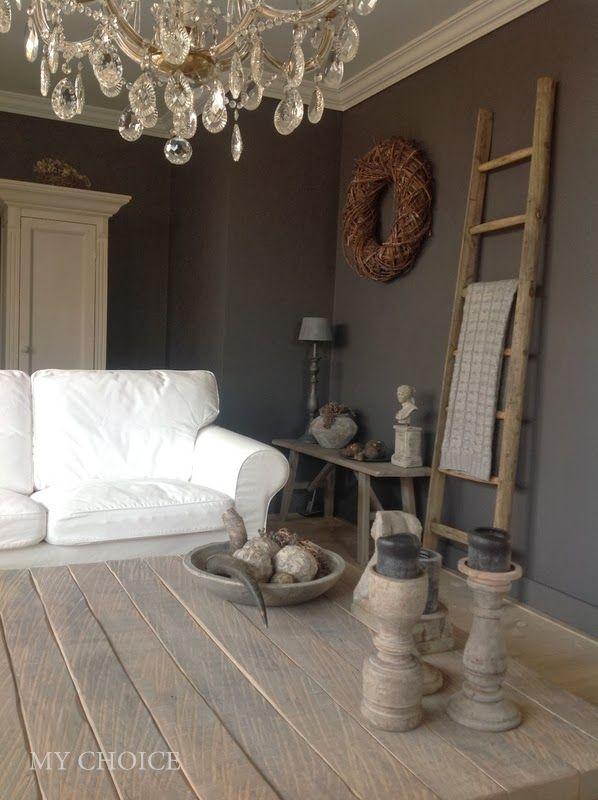 Rustic Livingroom Landelijk woonkamer  Interior Ideas