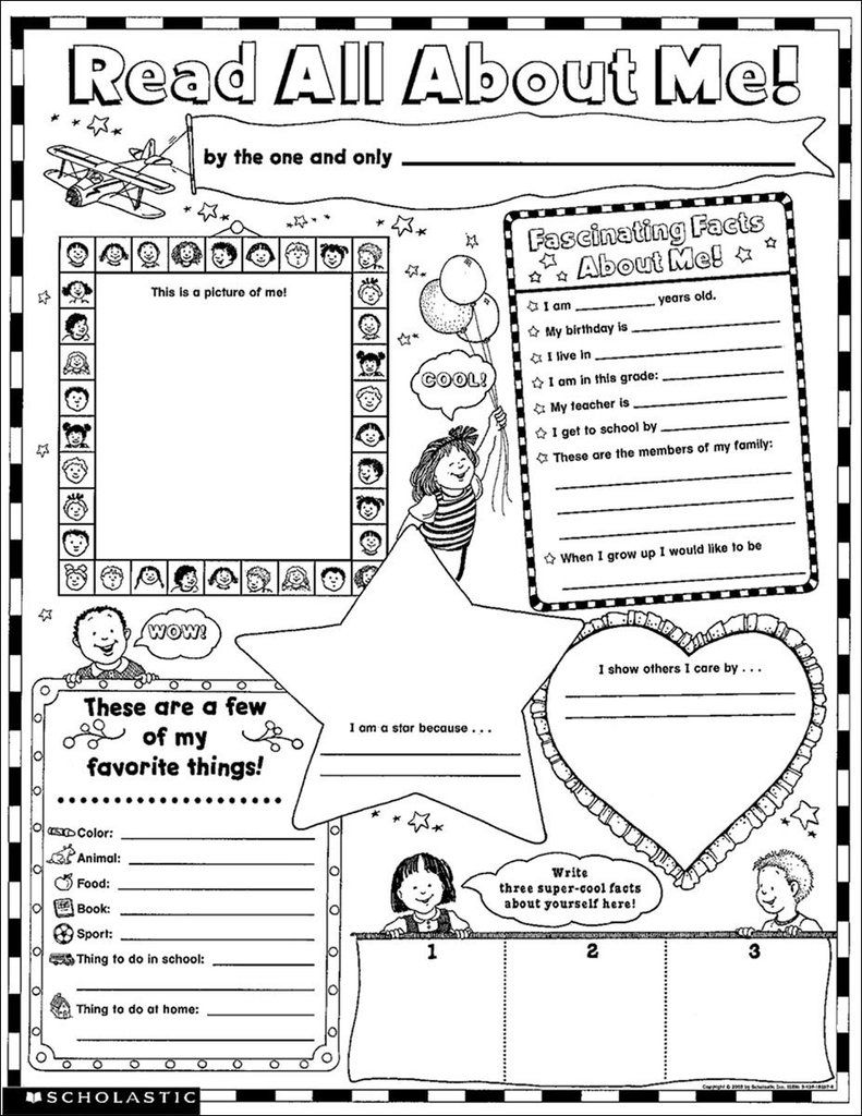 Read All About Me: 30 Big Write-and-Read Learning Posters
