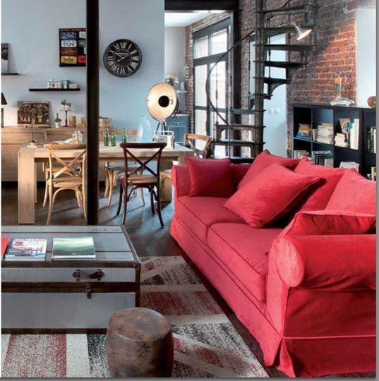 Dco salon salle  manger moderne  les bonnes ides  Salons Bachelorette pad and Living rooms