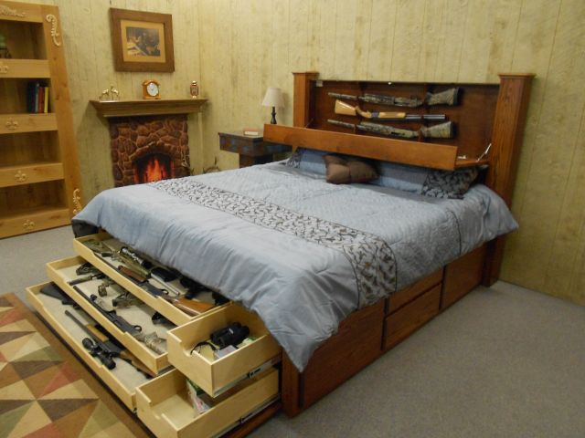 Hidden Gun Storage Ideas gun storage