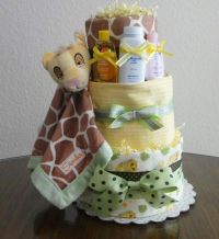 Disney Lion King Diaper Cake   Baby Shower junk ...