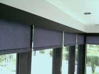 Office blinds | ... to hide the roller blinds and to match ...