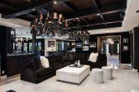 Khloe Kardashian House Decor Contemporary Living Room with ...