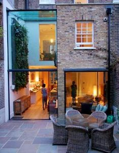 Very good two storey rear terrace extension with double height space methodstudio also best extensions images on pinterest rh uk