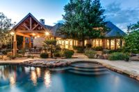 Stunning custom home with a pool and backyard paradise ...