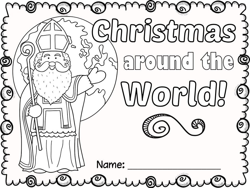 FREE Christmas Around the World NO PREP activities