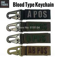 OneTigris Blood Type Velcro Strap Quick Release Keyring ...