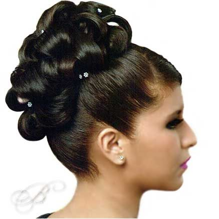 Formal Quinceanera Updo Hairstyle Cute Hairstyles For Girls