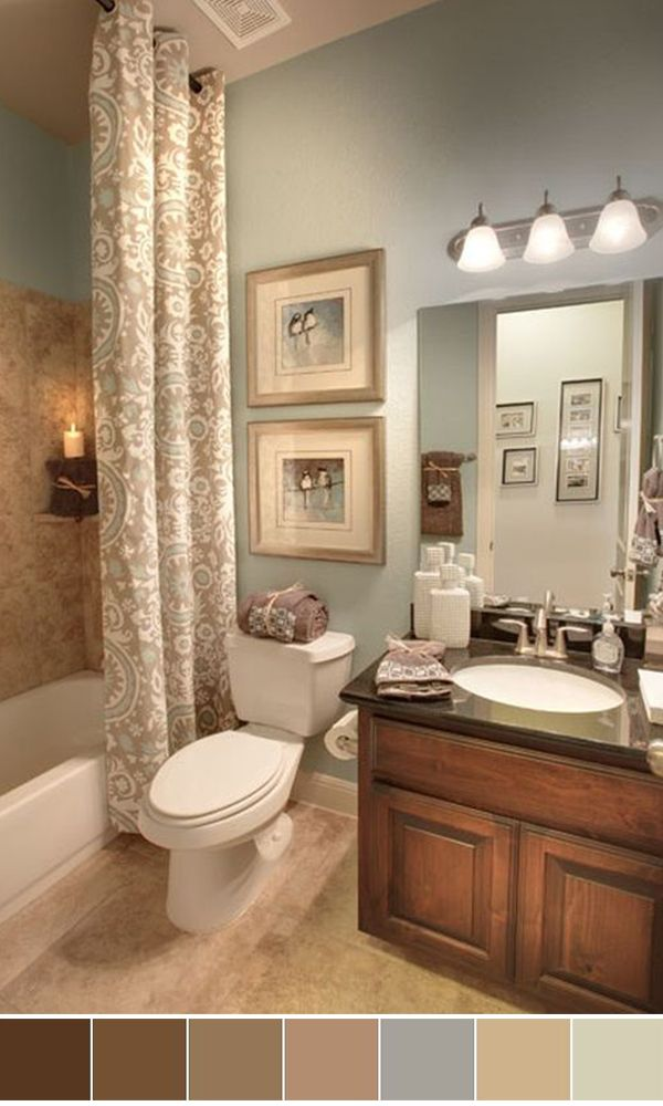Worlds Best Bathroom Color Schemes For Your Home