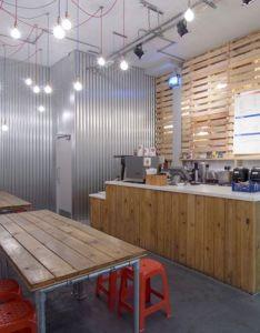 Restaurant design grab thai street kitchen by mansikkamaki joy also corrugated metal rh pinterest