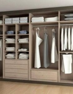 Como organizar el armario wardrobe designwardrobe internal also wardrobes bedrooms and dressing room rh pinterest