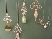 Beautiful handmade copper pendant necklaces- some really ...