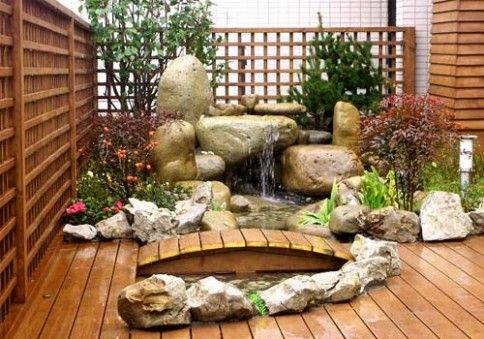 Idea For Having Rocks Around The Flower Bed And Around A Little