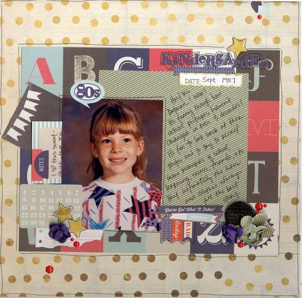 Kindergarten - School & Graduation Scrapbooking