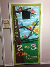 Door Decoration: Spring Birds (Calling Her Blessed ...
