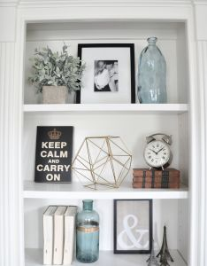 Bookcases also styling built ins instagram feed how to style and  house rh pinterest
