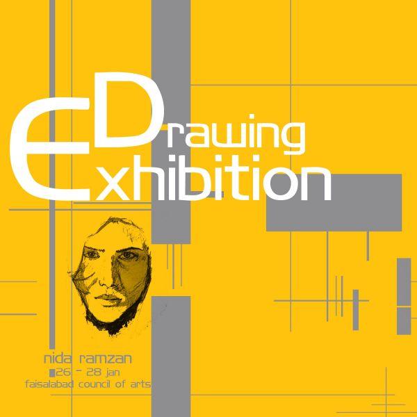 Art Exhibition Invitation Card