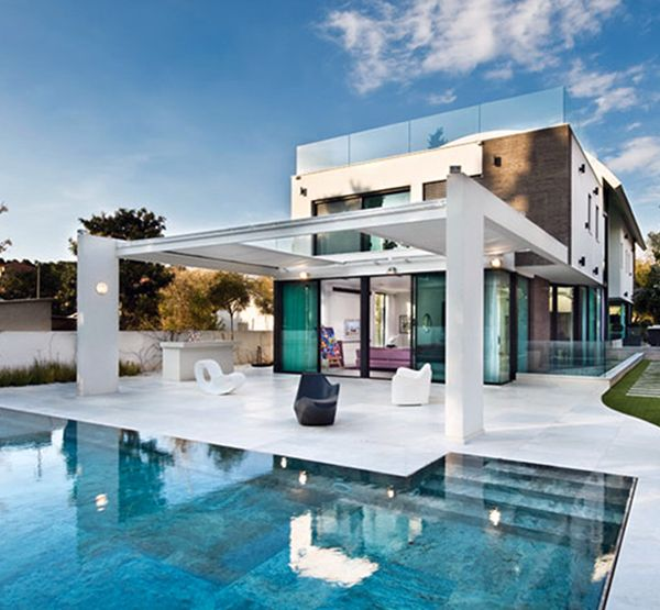 Contemporary Mediterranean House A Private Paradise House Art
