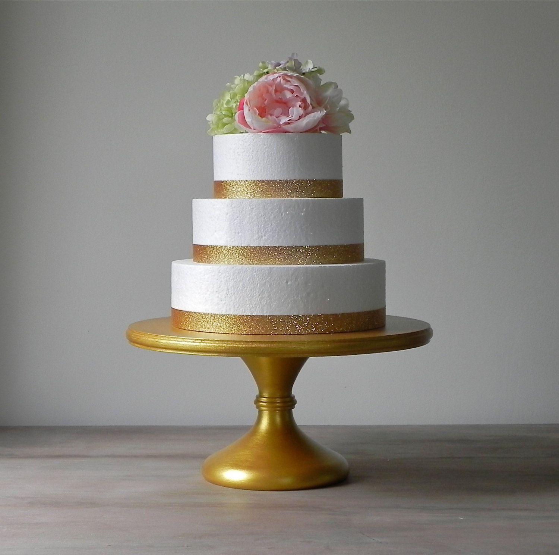Gold Cake Stand 16 Wedding Cake Stand Pedestal Cake Stand