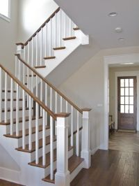 Craftsman Style Staircase Design, Pictures, Remodel, Decor ...