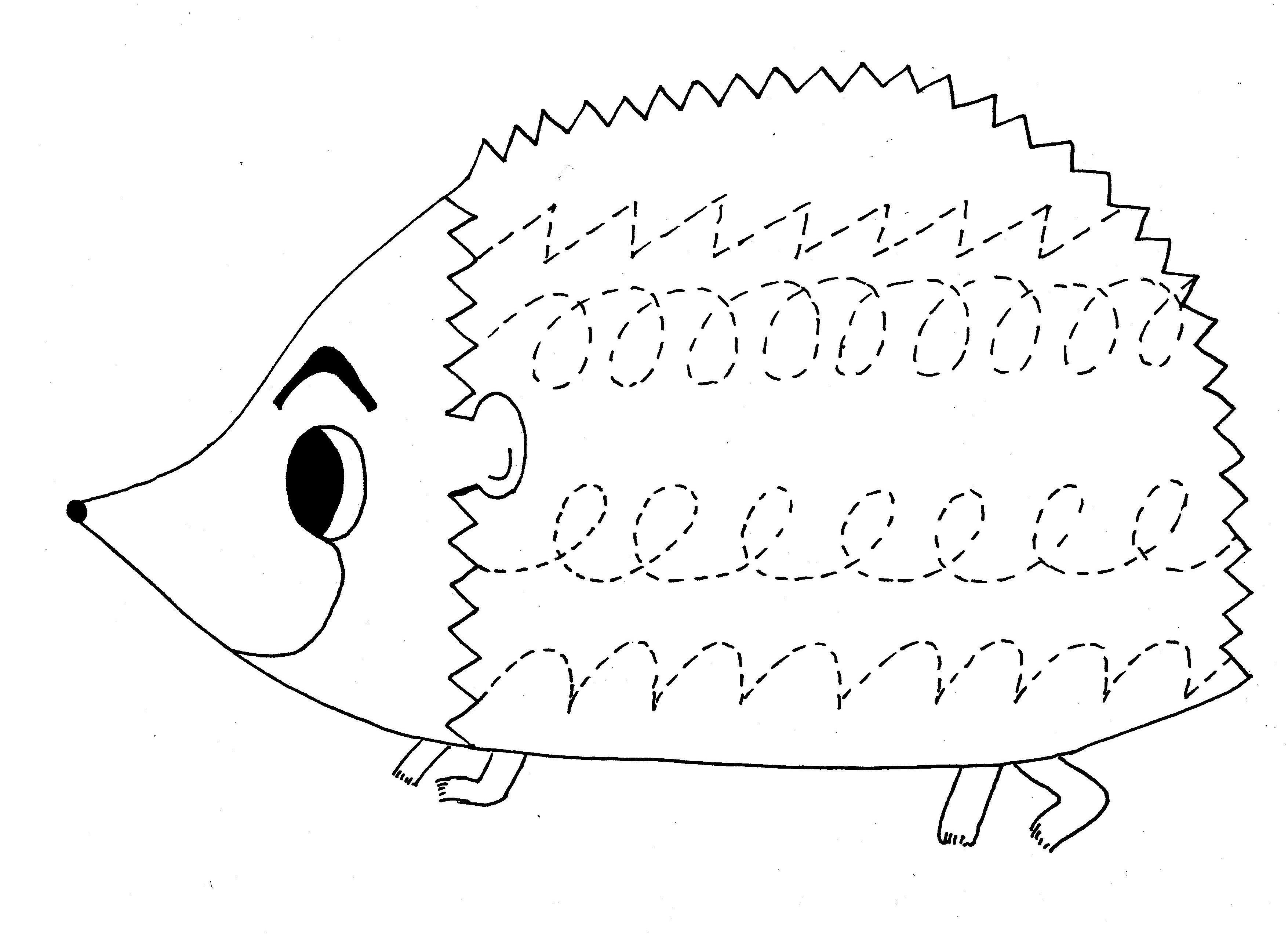 http://www.preschoolactivities.us/animals-trace-line