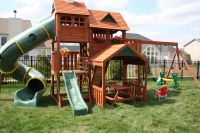 kids playsets for backyard | Big Backyard Lexington Wood ...