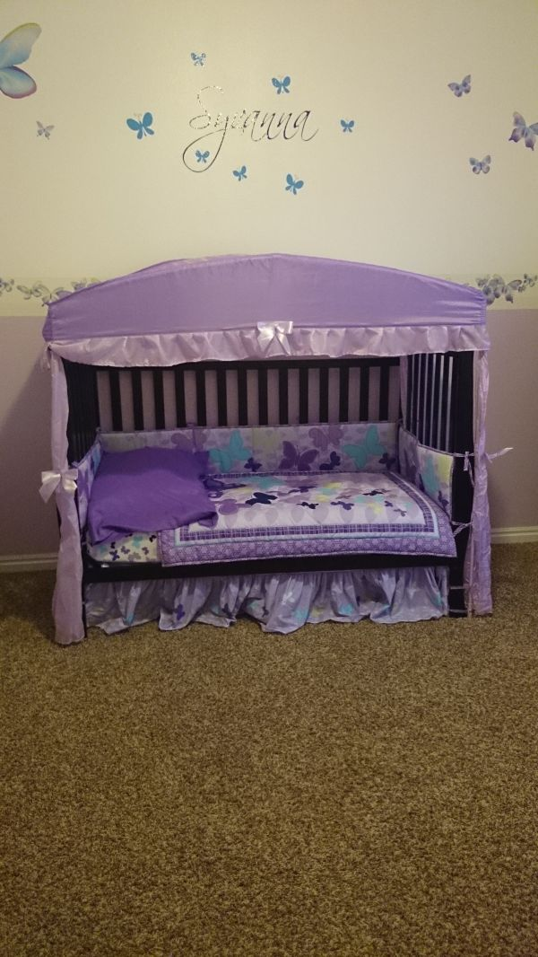 Crib into Toddler Bed