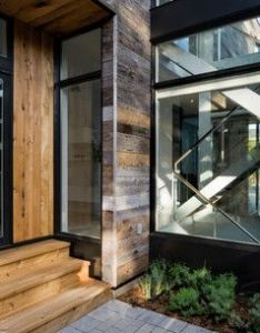 This house is as much about natural light and artistic functional it the home   design shean says moves through structure also horizontal exterior reclaimed wood siding ideas pictures rh pinterest