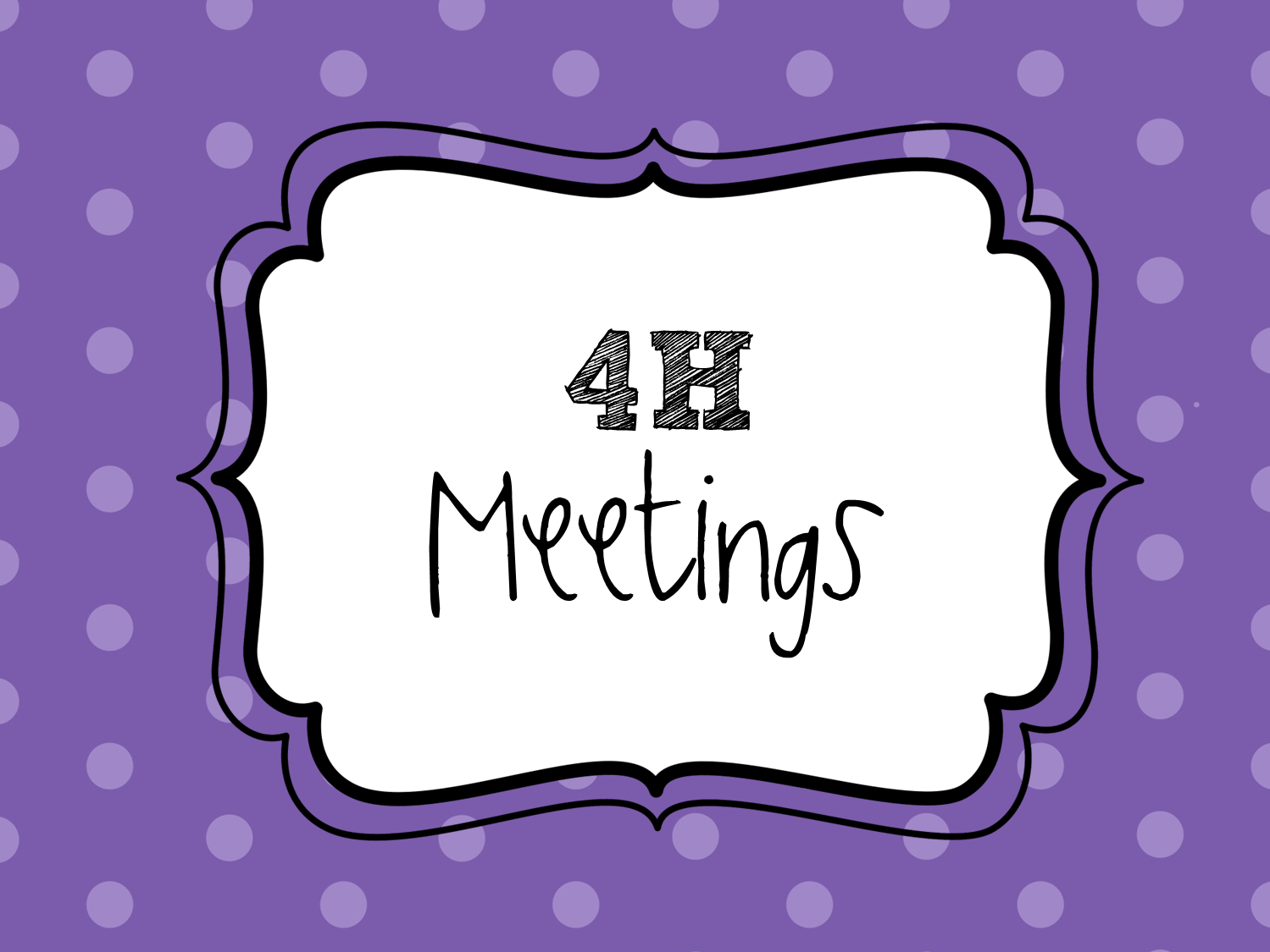 Great 4h Quotes And Infographics Meeting Activity Ideas And Creative Crafts