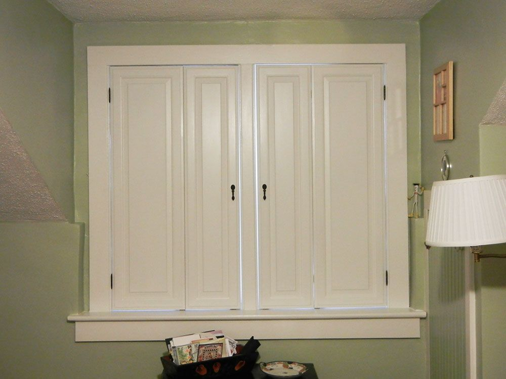 best diy window shutters