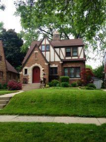 Small Tudor Style House