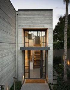 Precast concrete steel modern house design also architecture rh za pinterest