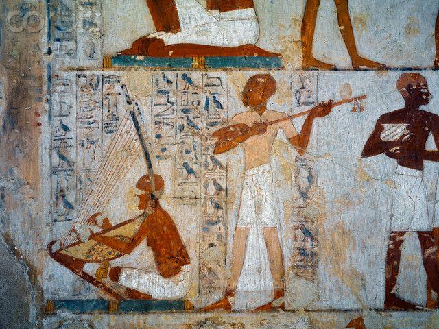 Musicians And Dancers Fresco Tomb Nebamun