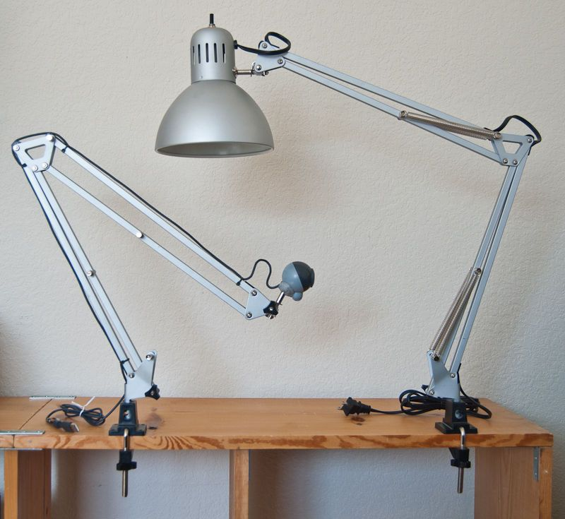The Tertial light offered by Ikea is much more that a work