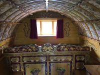 Interior of Romany Gypsy Bowtop Caravan by Pete Rowlatt ...