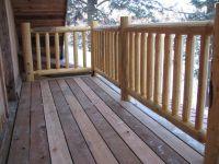 wood deck railing photos
