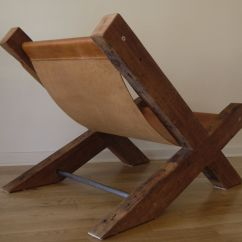 Wooden Lounge Chair Plans Desk Chairs With Wheels Reclaimed Wood And Leather Handmade By