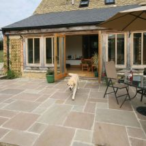 Pavestone Paving-antique Sandstone 'tudor'-oxford-paving