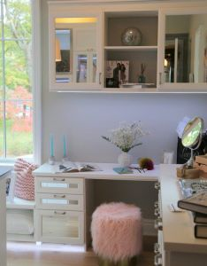Simply glamorous design from california closets of nashville consultant rebecca watson trends the   more designer showhouse also for omore with blush rh pinterest